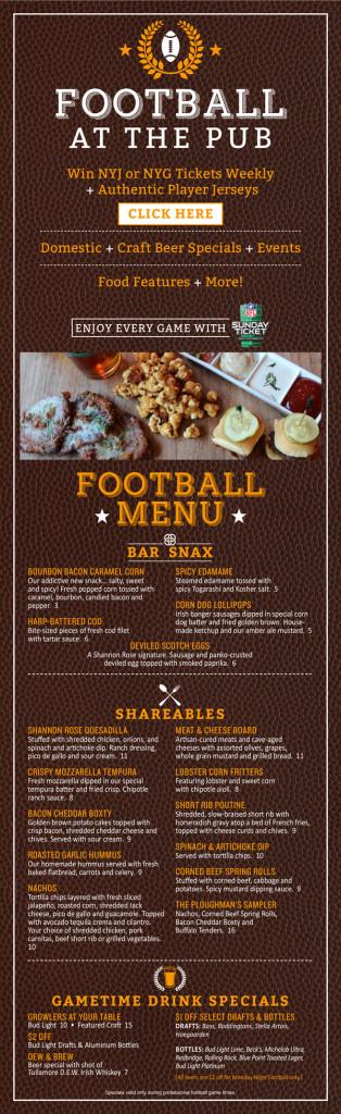 Football+menu