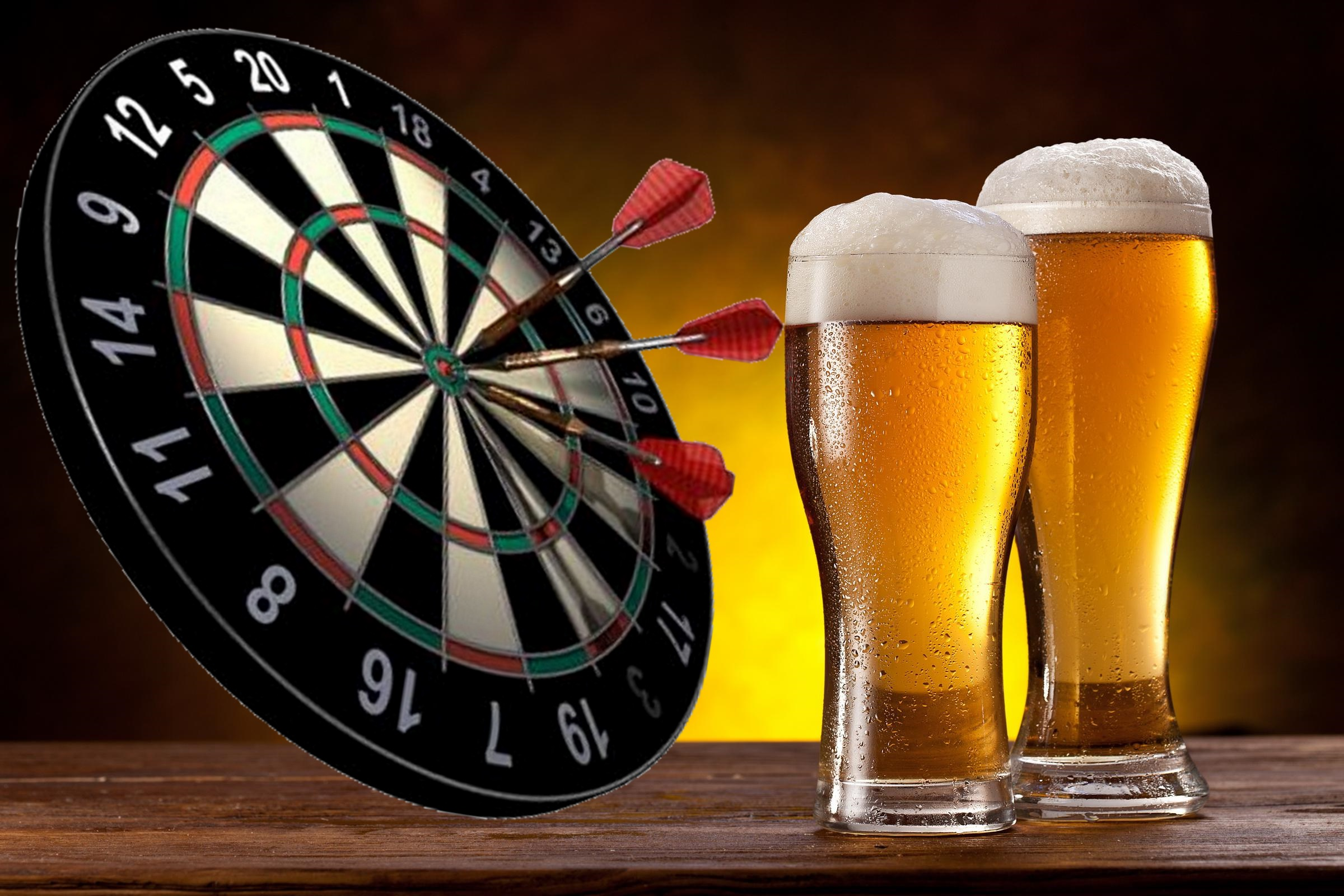 General Poor's Dartboard and Beer