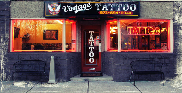 Vintage Tattoo Shop