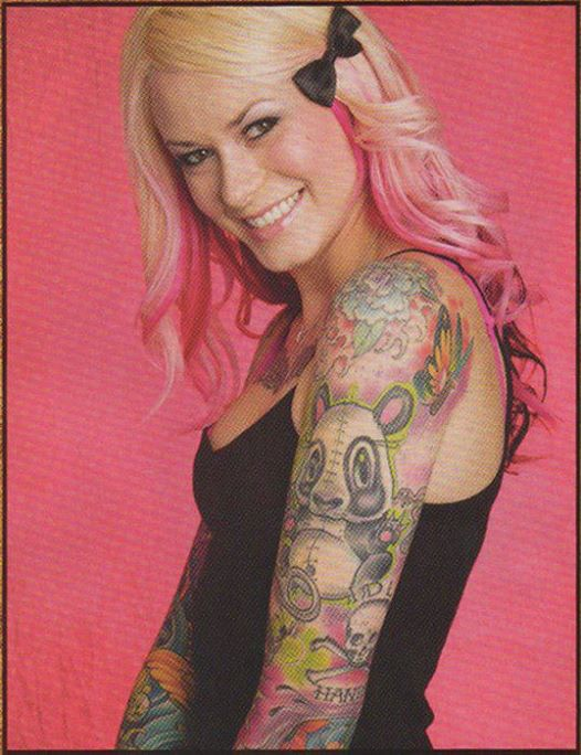Shotsie's Tattoo Artist Azarja Van der Veen