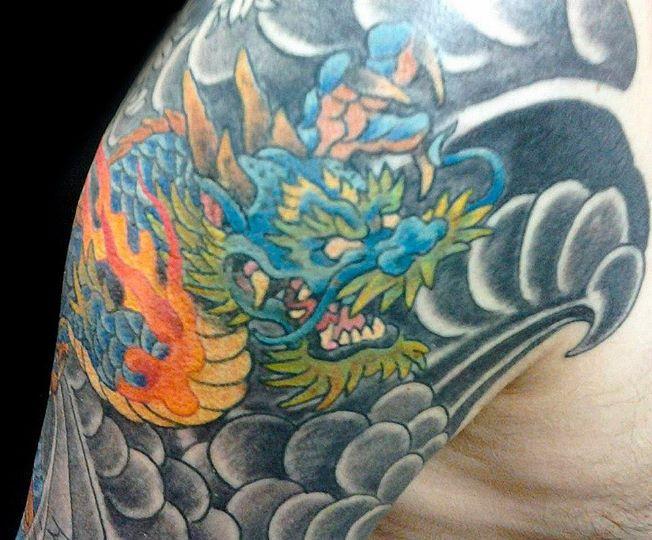 Shotsie's Tattoo Artist Eric Newman