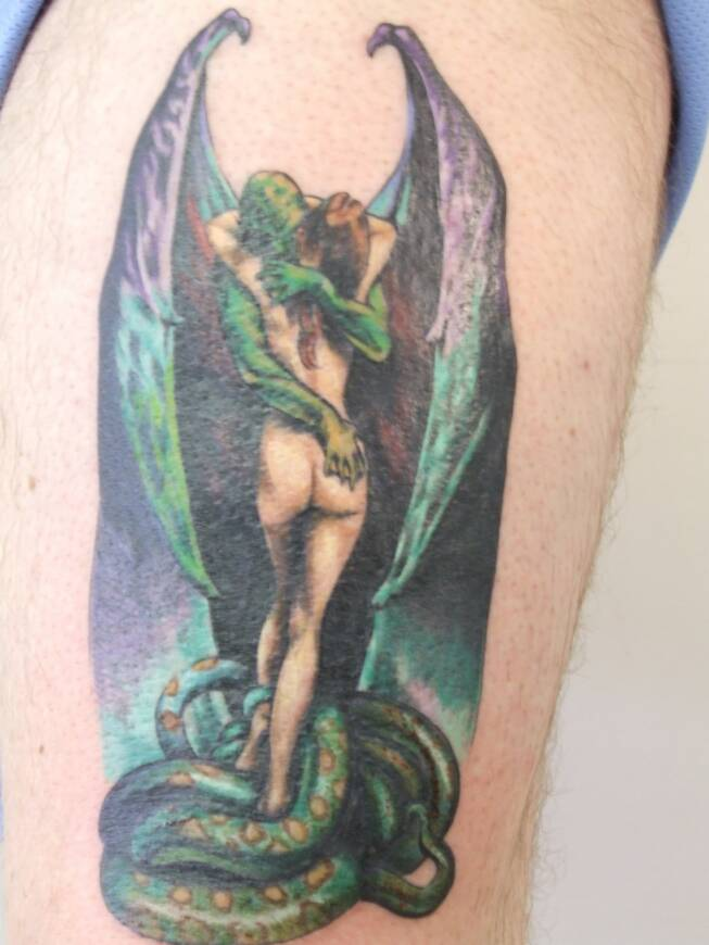 Vintage Tattoo Jed