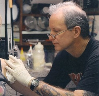 Shotsie's Tattoo Artist Scotty Flying Ace Lowe