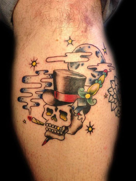 Shotsie's Tattoo Artist Theoni Sapounas