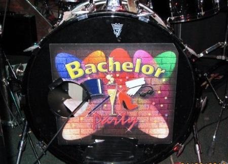 Bachelor Party Orange Lantern