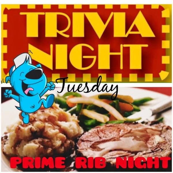 Trivia Night Prime Rib Night Blackjack Mulligans Secaucus