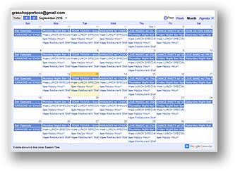 grasshopper-calendar